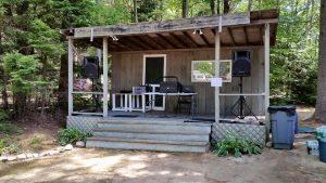 Durham, Maine Wedding - White's Beach Campground