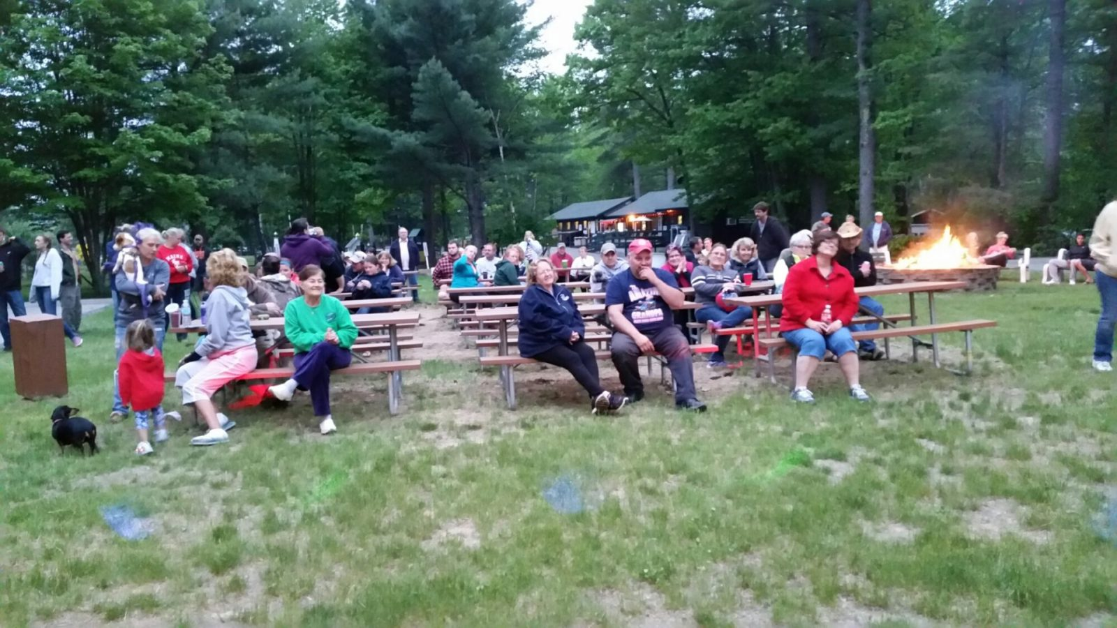 Karaoke/Dance Party at Littlefield Beaches Campground